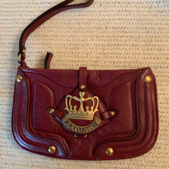 Juicy Couture Handbags - NWOT...JUICY COUTURE leather wristlet